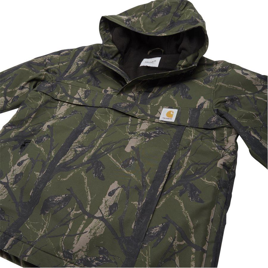NIMBUS PULLOVER I027639 - Nimbus Pullover Jacket - Jakker - Regular - CAMO GREEN - 7